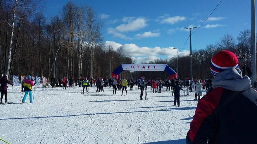 Неменее 6 тыс. тамбовчан приняли участие в«Лыжне России»