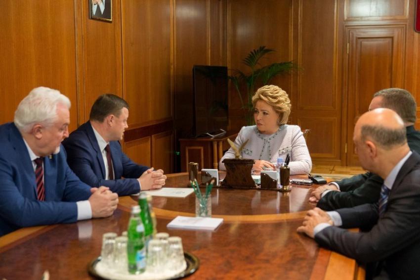 Инвестпроекты Тамбовской области обсудили вСовете ФедерацииРФ