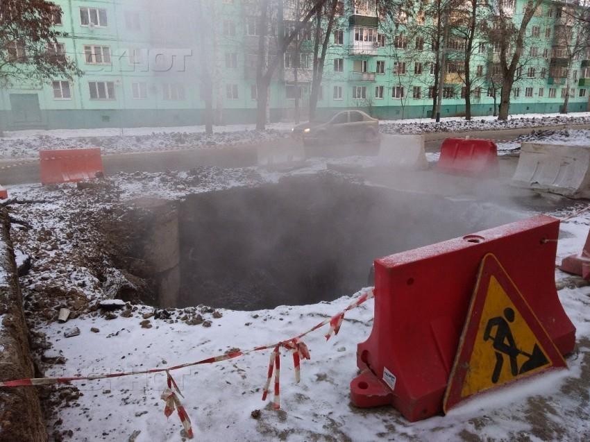 Новый срок ликвидации ям во дворах Тамбова – май