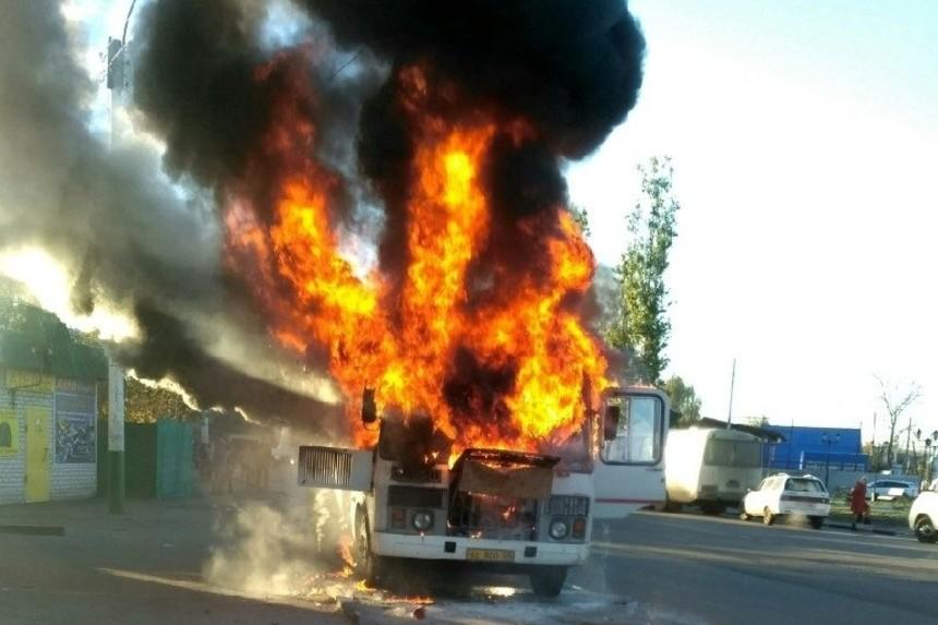 К пожару автобуса в Мичуринске привели дешёвые запчасти и обслуживание не у «официалов»