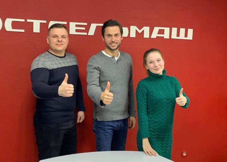 Три часа общался наставник «Лидеров Тамбовщины» Максим Жалнин со своими подопечными