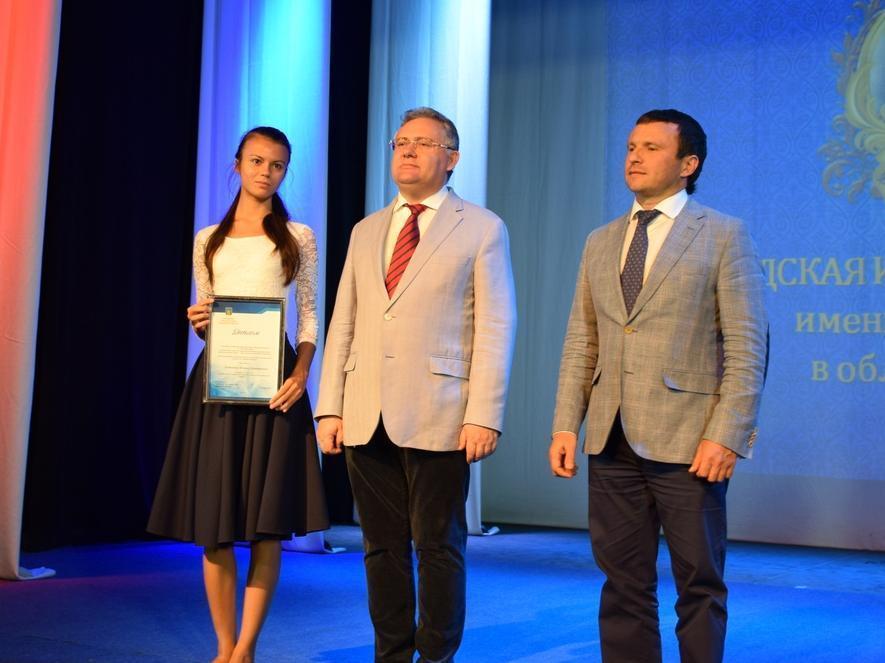 17 лучших школьников Тамбова получили городские стипендии и гранты