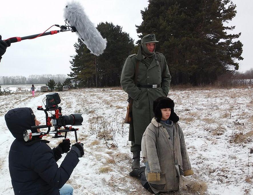Съемочная группа фильма о Зое почувствовала все прелести русской зимы