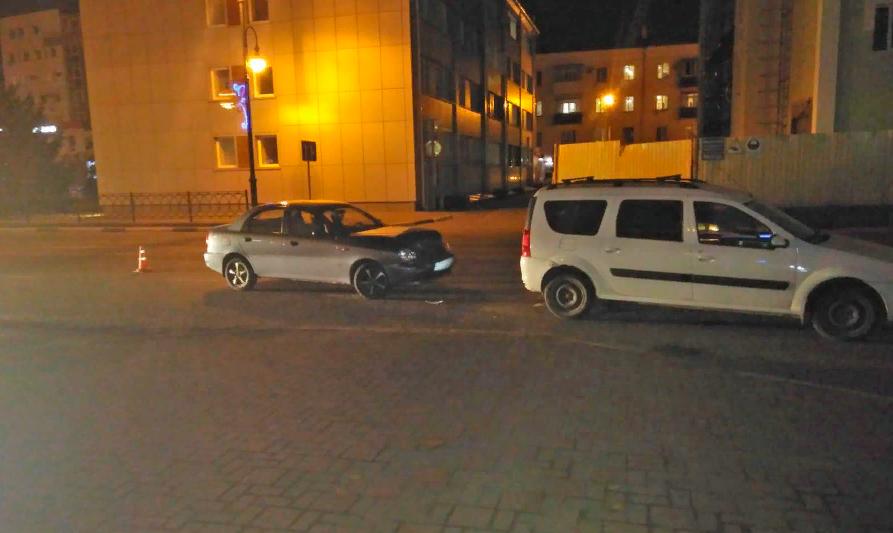 В Тамбове автоледи совершила двойное ДТП