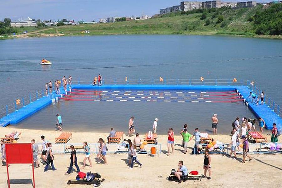 Три тамбовских пляжа признаны непригодными для купания
