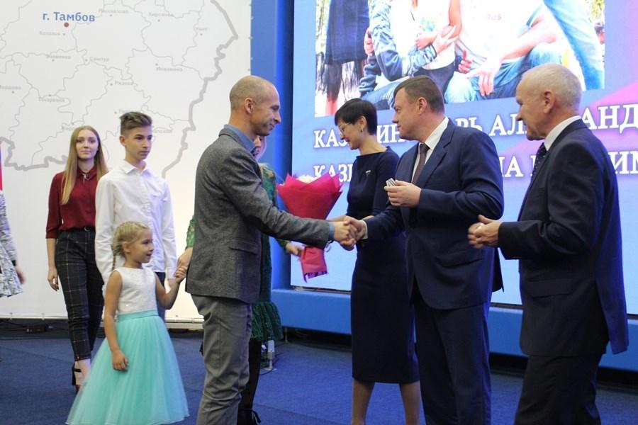 Губернатор наградил почётными грамотами и премиями выдающихся жителей Тамбовской области