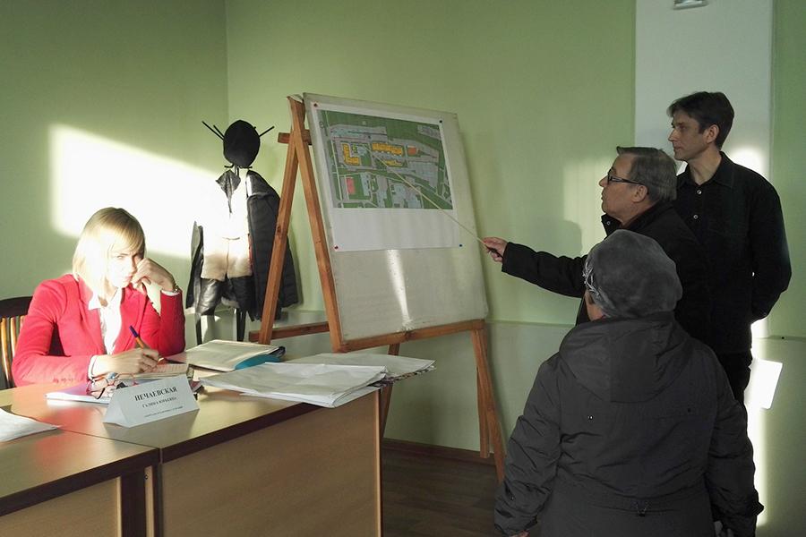 Многоэтажки против гаражей: в Тамбове прошли публичные слушания проекта застройки