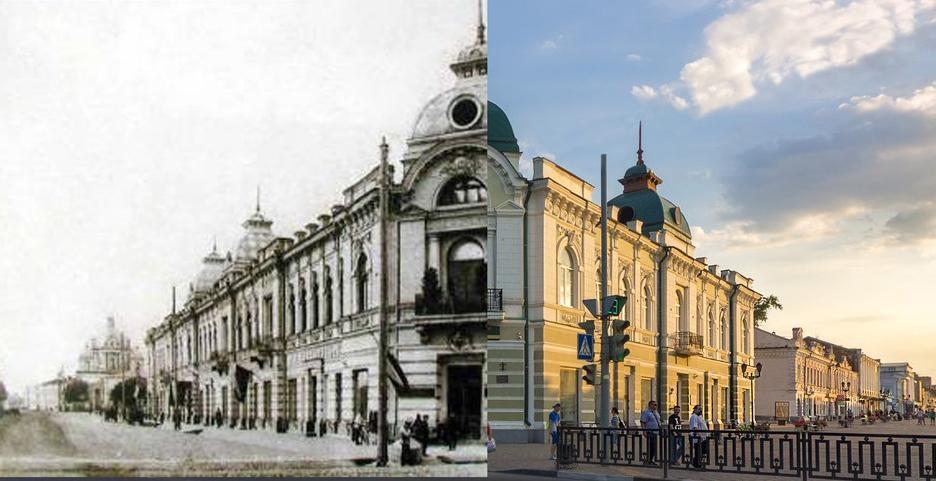 Тамбов тогда и сейчас. Как изменились «визитные карточки» областного центра