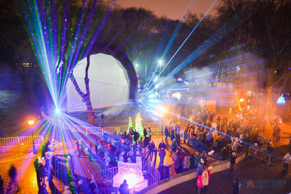 Лазерным шоу подсветят праздник в Асеевской усадьбе