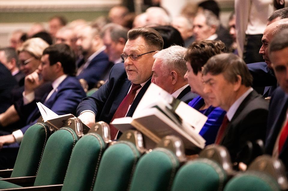 Тамбовские законодатели отмечают четвертьвековой юбилей Думы
