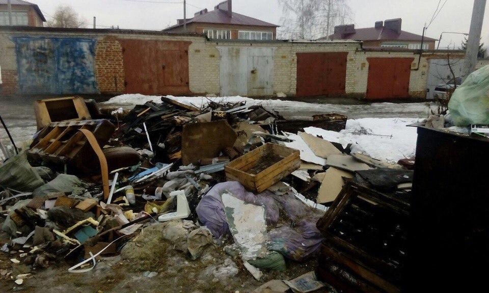 «В центре Тамбова нет проблем с мусором, посмотрите лучше на нас!»- возмущены жители села Донское