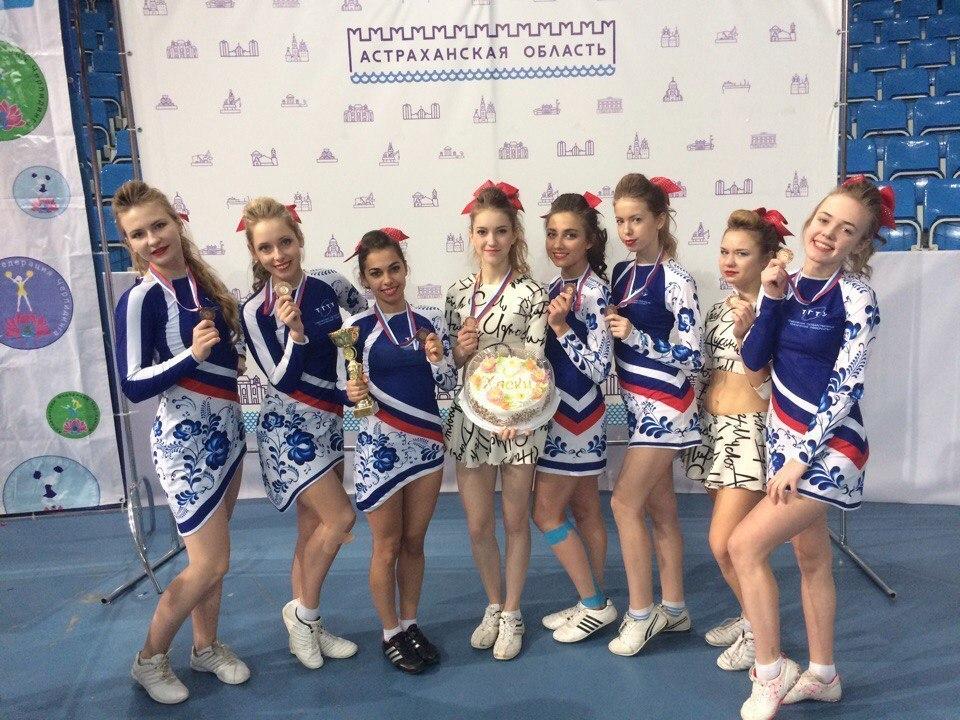 «Хаски» и «Кодекс» ТГТУ стали бронзовыми призерами всероссийских соревнований по черлидингу