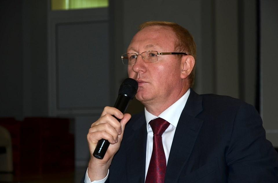 Глава Рассказова провёл урок для школьников