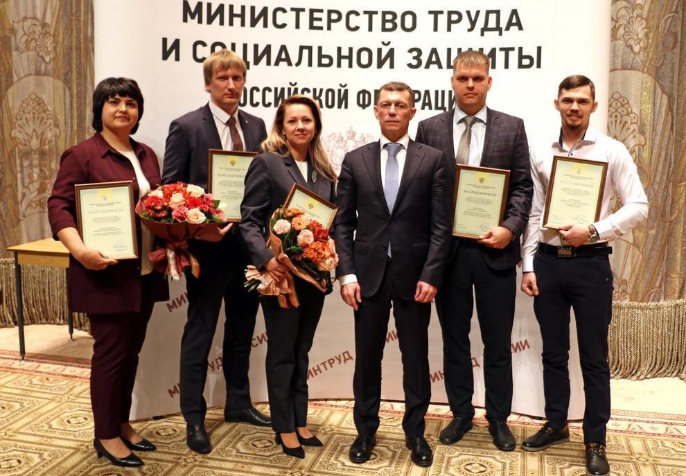 Кондитер из «Гренка» получил награду из рук министра труда