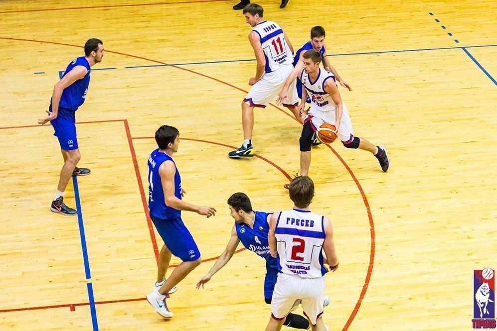 Игроки БК «Тамбов» победили в первой выездной игре в Магнитогорске
