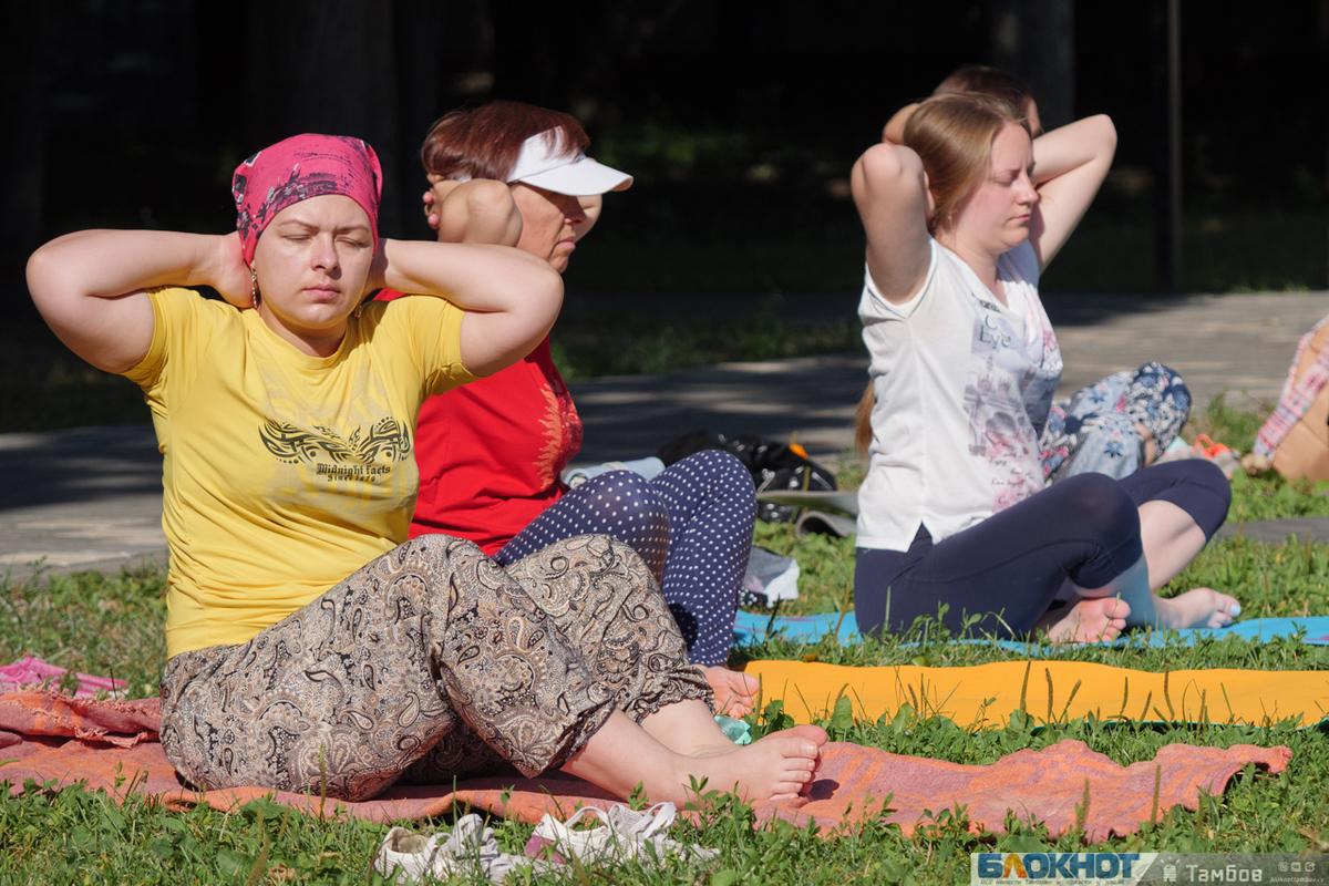 На газоне усадьбы Асеевых поселились йоги. Фотообзор