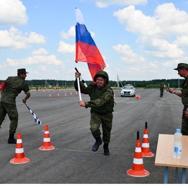 Инспектор тамбовского ВАИ помог России выиграть в «Армейских играх»