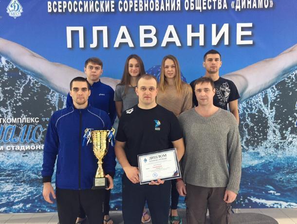 Сборная «Динамо» доплыла до серебра на Всероссийских соревнованиях по плаванию