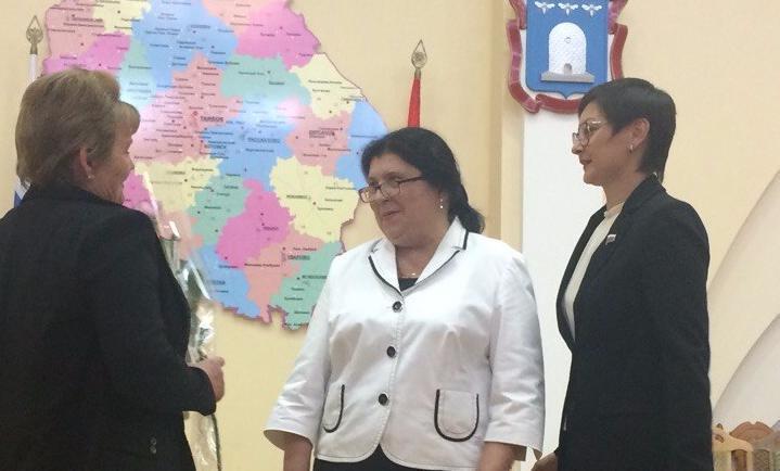 Наталья Астафьева: «Хочу поздравить всех, кто строит и формирует новую систему соцобслуживания»