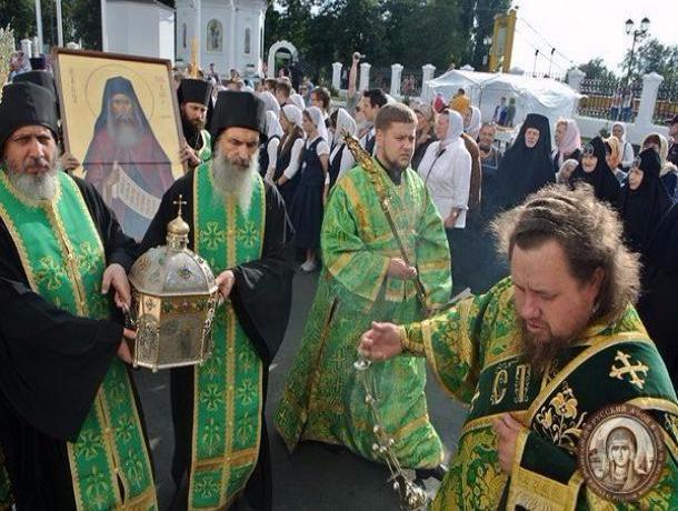 Впервые мощи святого Силуана Афонского везут в Тамбов