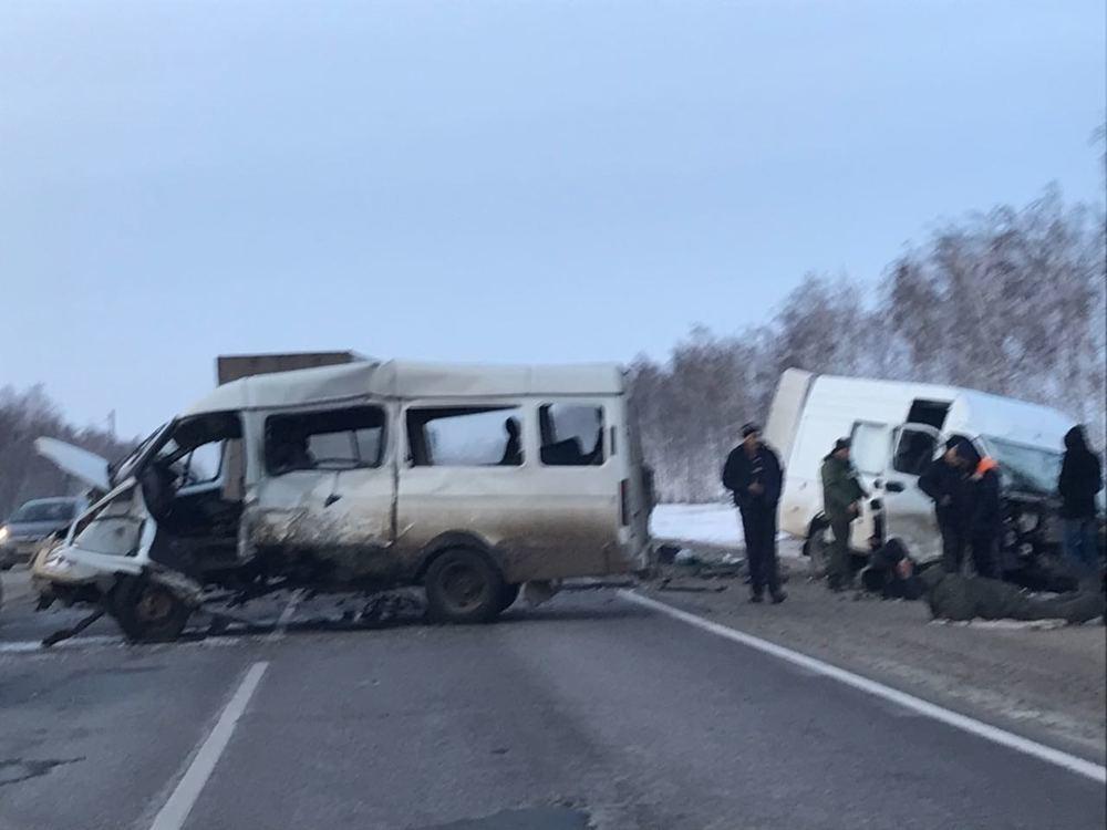 Страшная авария с участием нескольких машин и человеческими жертвами  произошла на подъезде к Тамбову