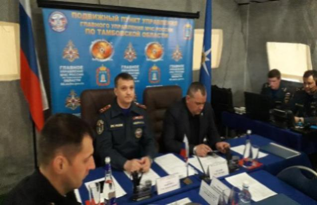 МЧС России провели учения по оказанию помощи тамбовчанам