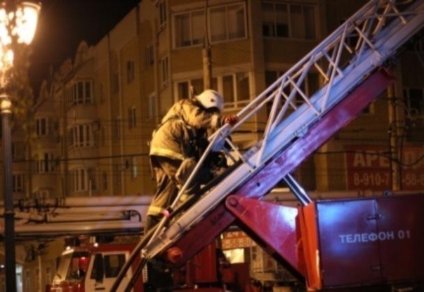 В Тамбове на улице Бориса Фёдорова выгорела кухня жилого дома