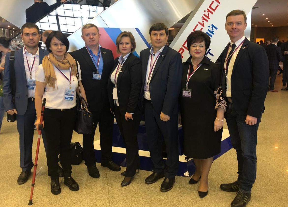 Активисты ОНФ из Тамбова побывали на съезде с Путиным