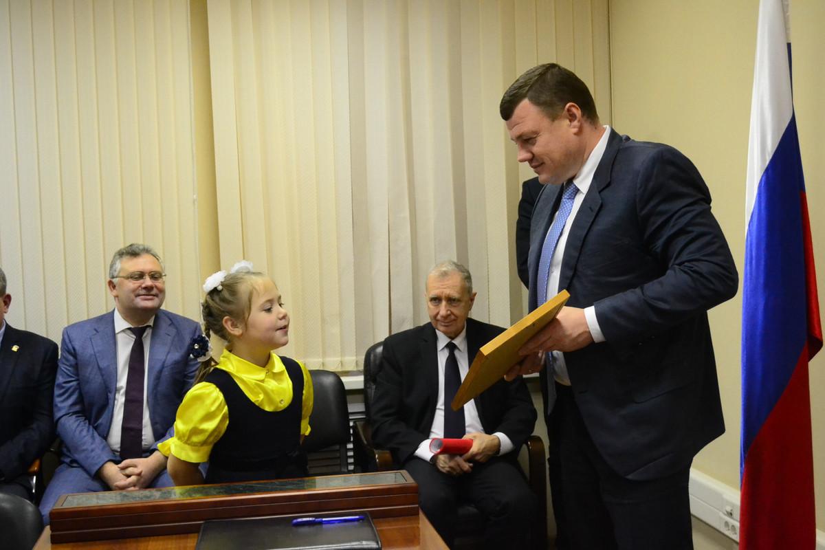 Тамбовчане на личном приёме поблагодарили губернатора Александра Никитина за оказанную помощь