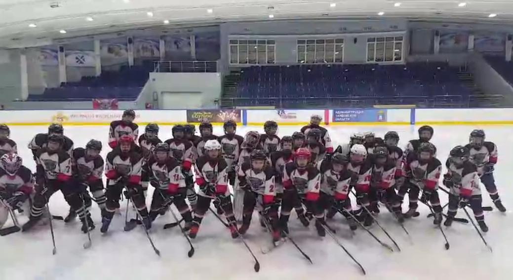 «Мы хотим Олимпиаду!» - юные тамбовские хоккеисты выступили в поддержку сборной страны