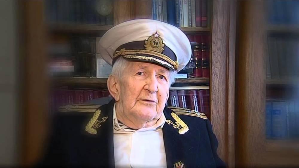 Старейший подводник России Юлий Ксюнин отметил 103-й день рождения