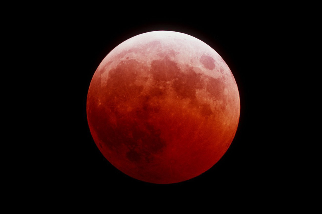 Тамбовчане увидят «кровавую» Луну, если облака разойдутся
