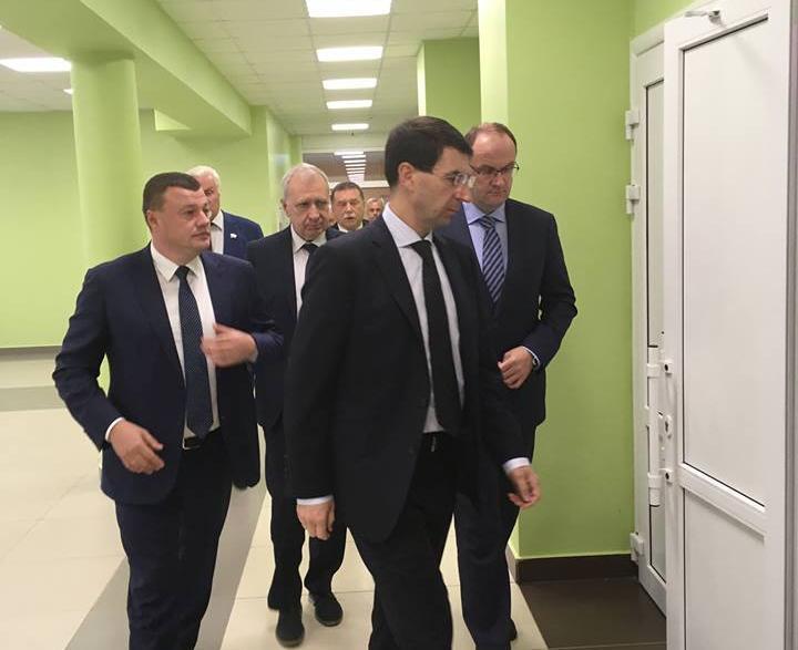 Полномочный представитель президента приехал на Первый фестиваль труда в Первомайский район