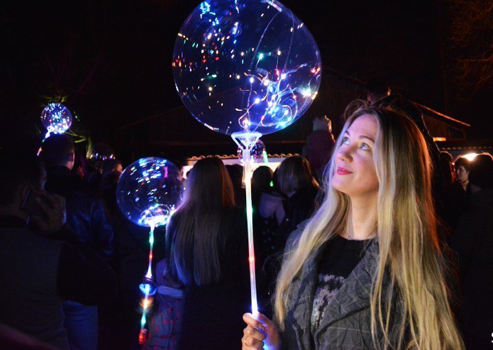 Сказку волшебных шаров  подарят тамбовчанам