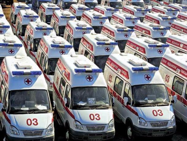 15 новых «скорых» получили больницы Тамбовской области