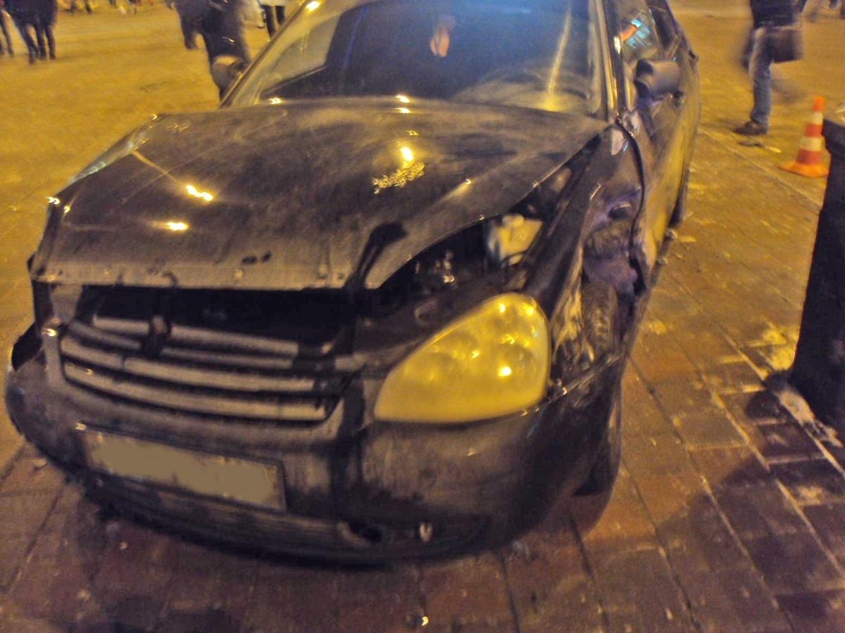 Появились подробности вчерашней аварии на Чичканова