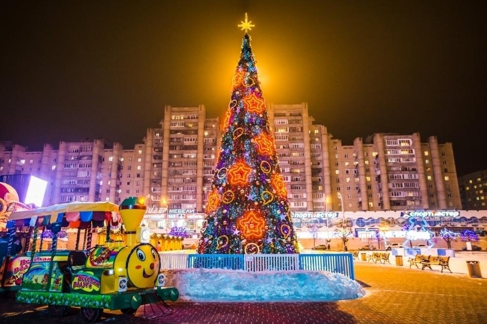 Тамбовчане выбрали самую красивую городскую елку