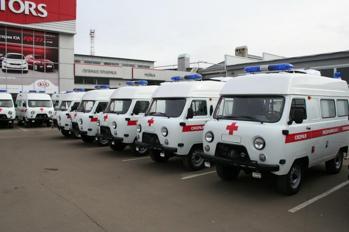 9 «карет» скорой помощи получат тамбовские медики до конца года