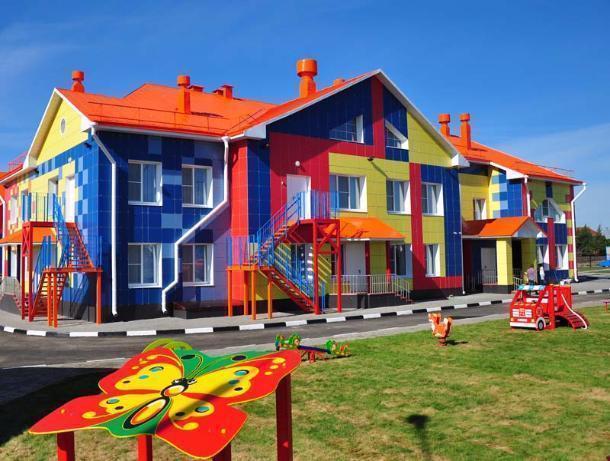 В Тамбове в микрорайоне «Уютный» 250 малышей пойдут в новый детский сад